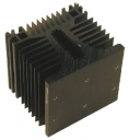 CELDUC HEATSINK - 0.75°C/W 100L x 110W x 100H, SCREW MOUNT FOR SC/SO/SVT/SV9/SG