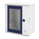 GEWISS 46QP POLYESTER CABINET IP66, CLEAR DOOR, 300 x 250 x 160mm