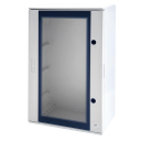 GEWISS 46QP POLYESTER CABINET IP66, CLEAR DOOR, 425 x 310 x 160mm
