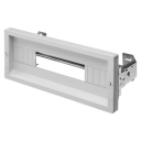 GEWISS 46QP ACCESSORY - COVER PANEL + WINDOW DIN KIT 12MODS FOR CABINET 310mm wide