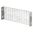 GEWISS 46QP ACCESSORY - STEEL GT PERFORATED 1x18MODS FOR CABINET 405mm wide