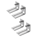 GEWISS 46QP ACCESSORY - INTERNAL ADJ MOUNTING BRACKETS/REVERSIBLE SQUARES (SET OF 4)