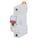 GEWISS 90AM ISOLATOR WITH RED LEVER, 1P 230V 80A