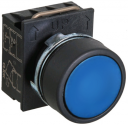 GHISALBA 22mm IP66 FLUSH PUSHBUTTON BLUE