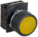 GHISALBA 22mm IP66 FLUSH PUSHBUTTON YELLOW