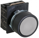 GHISALBA 22mm IP66 FLUSH PUSHBUTTON GREY