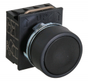 GHISALBA 22mm IP66 FLUSH PUSHBUTTON BLACK