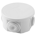 GEWISS 44CE ENCLOSURE IP44, GREY PRESS-ON LID, Ø65 x 35mm