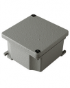 AL JUNCTION BOX, ATEX 3GD Ex nA Zone 2,22, RAL 7037 IP66, 91x91x54mm
