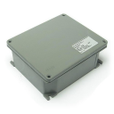 AL JUNCTION BOX, ATEX 3GD Ex nA Zone 2,22, RAL 7037 IP66, 154x130x58mm