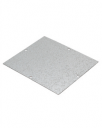 CVS MOUNTING PLATE, GALV STEEL FOR AL J/BOX 155 x 130mm