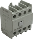 GHISALBA AUX CONTACT BLOCK 2NO+2NC, TOP MOUNT - FOR CONTACTOR GH15BL~TT