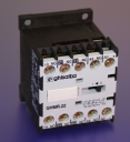 GHISALBA MINI AUX CONTACTOR/RELAY 10A (AC1) 4 POLE (2NO+2NC) - COIL 48VDC