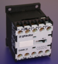 GHISALBA MINI AUX CONTACTOR/RELAY 10A (AC1) 4 POLE (3NO+1NC) - COIL 24VDC