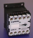 GHISALBA MINI AUX CONTACTOR/RELAY 10A (AC1) 4 POLE (4NO) - COIL 24VDC
