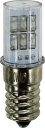 GEWISS COMBI LED E14(SES) 24V GREEN - SUIT INDICATING LIGHT