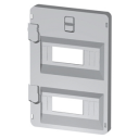 GEWISS 44CEP ACCESSORY - COVER PANEL / DIN RAIL 14MODS 396 x 316mm