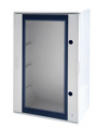 GEWISS 46QP POLYESTER CABINET IP66, CLEAR DOOR, 500 x 405 x 200mm