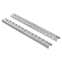 GEWISS 46QP ACCESSORY - UPRIGHT MOUNTING RAILS (PAIR) FOR CABINET 500 x 405mm