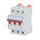 GEWISS 90AM ISOLATOR WITH RED LEVER, 3P 400V 80A