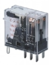 RELAY PLUG-IN DPDT 5A 24VDC (BASE SRU08-E)