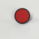 TER CIRCULAR DISK RED - BLANK, FOR CHARLIE & ALPHA SOLO BUTTON