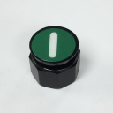 TER CIRCULAR DISK GREEN - WITH START SYMBOL, FOR CHARLIE & ALPHA DUAL BUTTON