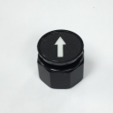 TER CIRCULAR DISK BLACK - 1-SPEED ARROW, FOR CHARLIE & ALPHA DUAL BUTTON