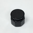 TER CIRCULAR DISC BLACK - BLANK, FOR CHARLIE & ALPHA DUAL BUTTON