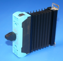 CELDUC CELPAC-2G 1PH SSR w/HEATSINK, GENERAL LOADS, 12-275VAC 25A (AC-51), Ctrl 160-240VAC/DC, VDR, CONNECTOR