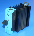 CELDUC CELPAC-2G 1PH SSR w/HEATSINK, GENERAL LOADS, 24-510VAC 45A (AC-51), Ctrl 3.5-32VDC, VDR, CONNECTOR