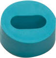 GREEN OVAL GROMMET IP68 5.5 X 11MM DIA