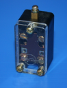 PILOT LIMIT SWITCH TOP PUSH - PLUNGER TYPE, METAL Ø5mm, 1NC/1NO SLOW ***WHILE STOCKS LAST***
