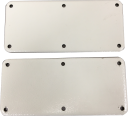CVS GLAND PLATE SMALL 210 x 95mm + GASKET FOR CR ENCLOSURES