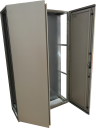 CVS ENCLOSURE OPEN SIDES 2000H x 1200W x 400D, 2-DOOR WITH GEAR PLATE.