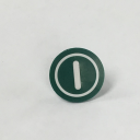 TER MIKE/VICTOR DISC INSERT - GREEN WITH START SYMBOL
