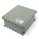 AL JUNCTION BOX, ATEX 3GD Ex nA Zone 2,22, RAL 7037 IP66, 294x244x114mm