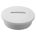 GEWISS IEC309 ACCESSORY - CLOSURE CAP PG36, NYLON, IP65, GREY RAL 7035