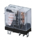 RELAY PLUG-IN SPDT 10A 12VDC (BASE SRU05-E)