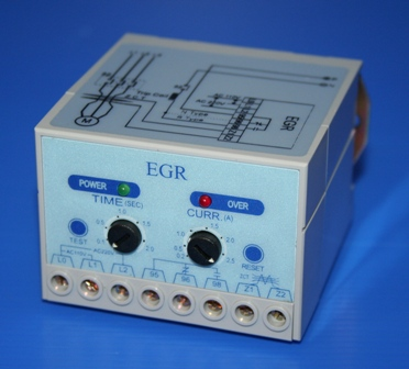 GROUND FAULT RELAY 200 - 25000mA, 110V or 220VAC *** WHILE